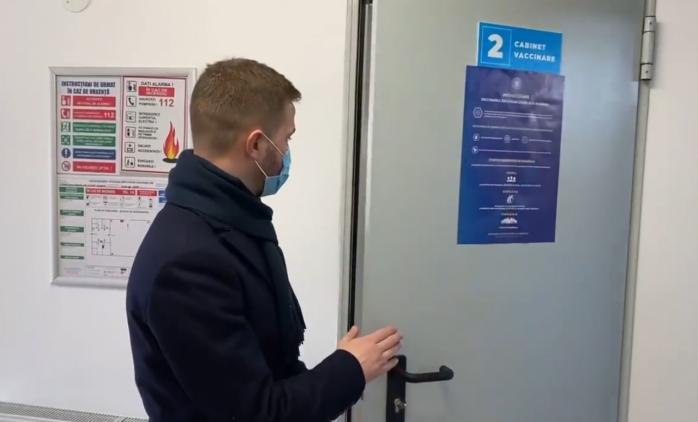 Tur VIDEO al Centrului de vaccinare împotriva COVID-19 din Florești
