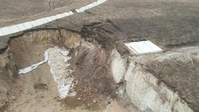 VIDEO. Loturile 1 și 2 pe A10 Turda - Sebeș s-au surpat. Constructorii au probleme din cauza solului