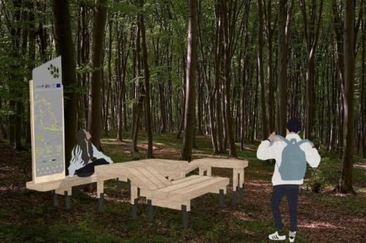 """Pădurea-Parc din Făget va fi gata în câteva luni. Boc: """"Din primăvară, va fi un spațiu unde clujenii să se simtă bine"""""""