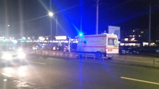 Accident cu o ambulanță Florești Metro