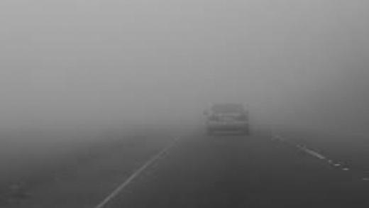 Cod galben de ceață densă și ghețuș la Cluj și încă 14 județe din țară