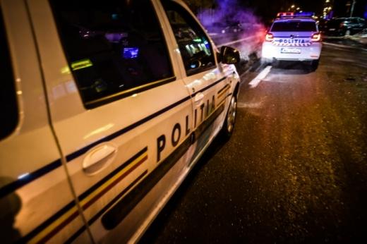 Urmărire spectaculoasă în Turda! Un șofer de 36 de ani a refuzat să oprească la semnalele polițiștilor