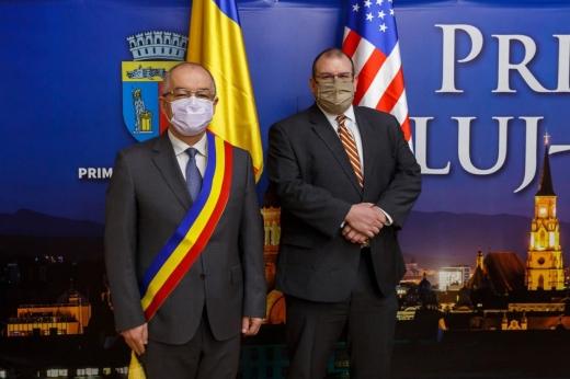 Înalt diplomat american, în vizită la Cluj