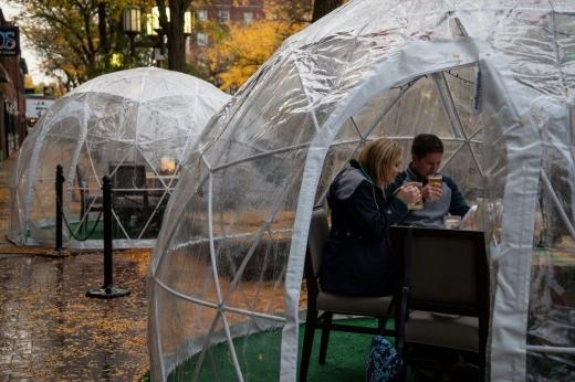 Amenzi pentru restaurantele din Cluj-Napoca care au servit clienții în igluuri