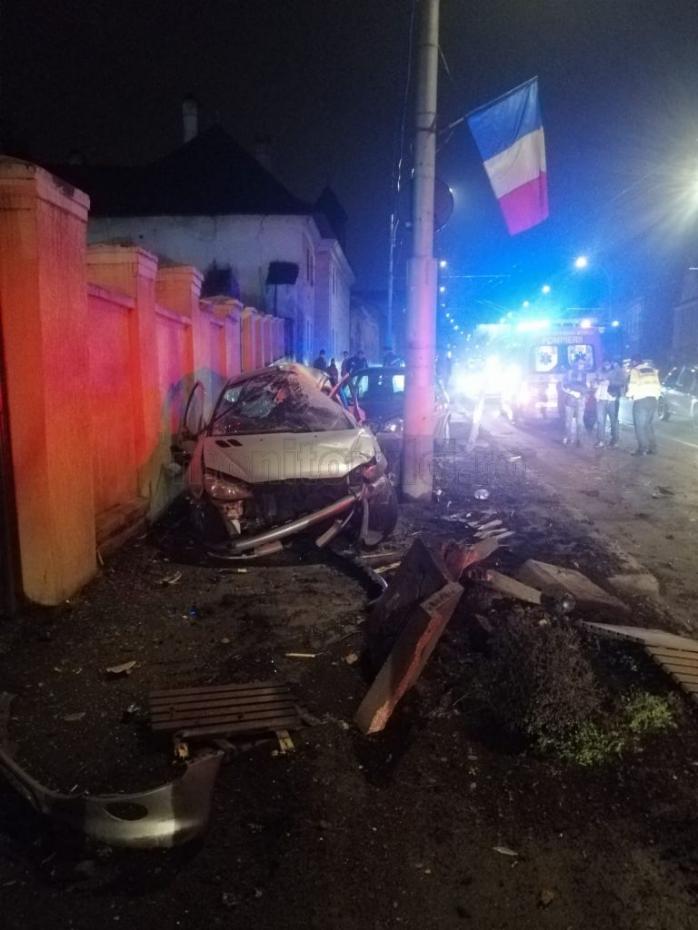 ACCIDENT în zona Platinia! Un șofer grăbit, la un pas să producă o tragedie