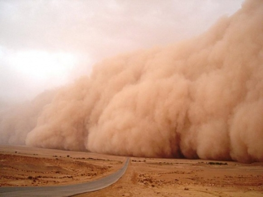 Un nor de praf saharian va ajunge deasupra României. Ce spun meteorologii?