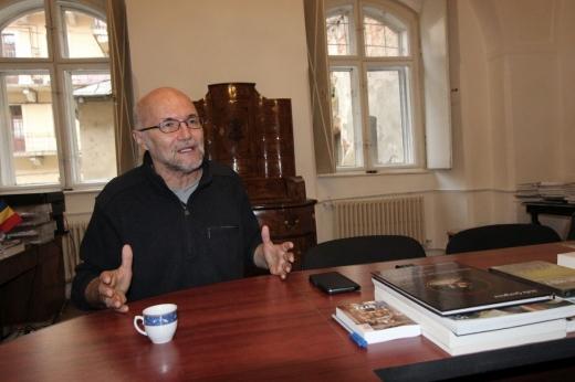 Lucian Năstasă Kovacs este directorul Muzeului de Artă din Cluj-Napoca