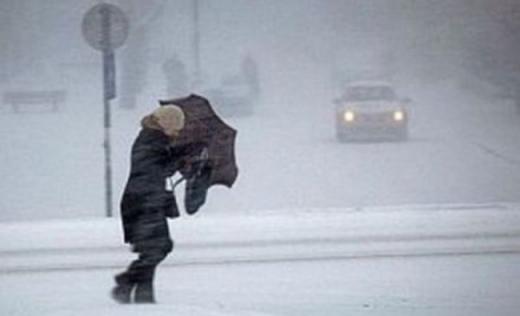 Weekend înghețat la Cluj! Zăpadă, viscol și temperaturi scăzute EXTREME, ajungând chiar la -18 grade