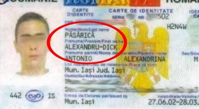 """Cum îți schimbi numele din buletin dacă te cheamă """"Bețivu"""", """"Portocală"""" sau """"Nespălatu"""""""