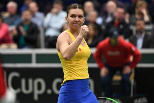 Simona Halep nu vine la Cluj pentru meciul cu Italia din Fed Cup