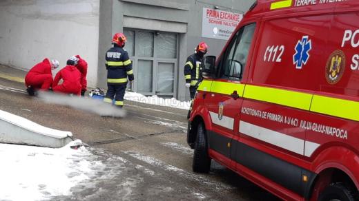 Sinucidere în centrul Clujului! Un bărbat s-a aruncat de pe parkingul de pe Calea Dorobanților