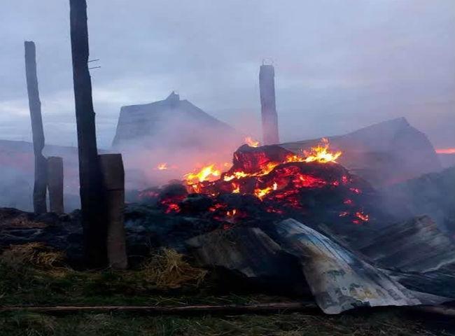 FOTO: ARHIVA. Incendiu pe strada Răsăritului! Un echipaj de poliție a anunțat evenimentul