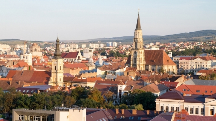 Cluj-Napoca văzut de sus