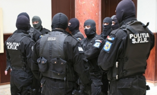 Grup infracțional la Cluj, prins de DIICOT