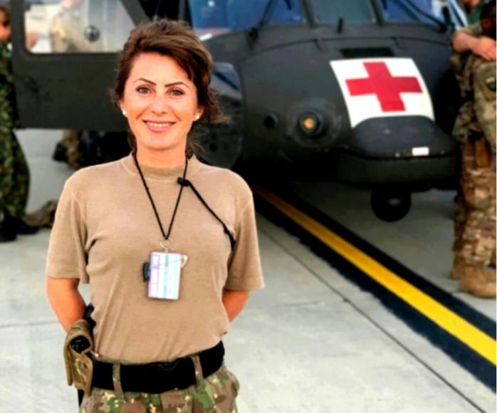Mihuț Cristina, sergent major la Spitalul Militar Cluj-Napoca, pleacă în misiune în Afganistan