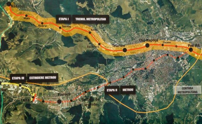 """Un """"drob de sare"""", primul obstacol în calea metroului din Cluj-Napoca! Boc nu se lasă impresionat"""