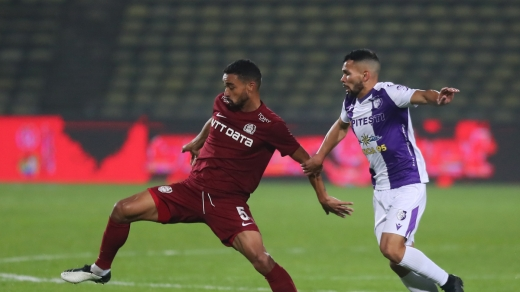 Victorie uriașă pentru CFR Cluj! I-au bătut pe piteșteni cu 5-0. VIDEO