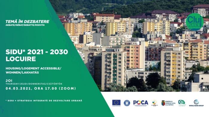 O nouă dezbatere publică la CIIC. Clujenii sunt invitați să discute pe tema locuirii