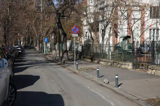 Șantierul din zona Parcului Central