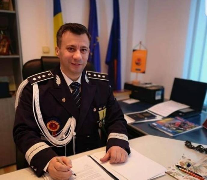 Sursă foto: bacau.net - comisarul Adrian Tuluc