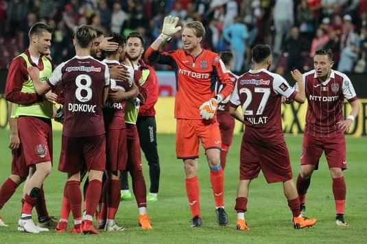 Arlauskis, gest de mare campion! Portarul lui CFR Cluj va juca gratis la echipă