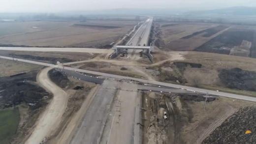 Lucrări în ritm de melc pe Autostrada A10 Sebeș - Turda. Nu vom circula nici în 2021 pe Lotul 2. VIDEO