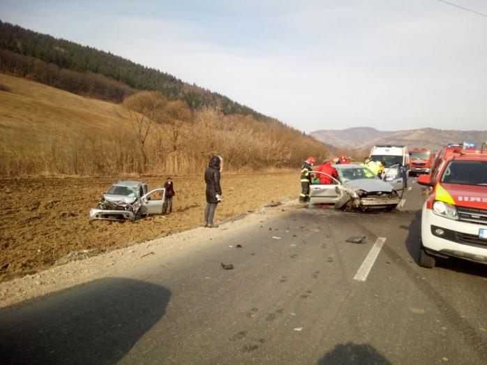Accident cu trei victime în Fizeșu Gherlii