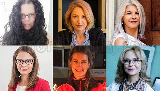 Șase femei de succes: Renate Roca, Ștefana Cristuțiu, Claudia Gherman, Olah Emese, Bianca Preda, Hajnal Komos