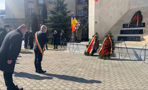 Ceremonie la Cluj-Napoca de Ziua Deţinuţilor Politici Anticomunişti. VIDEO