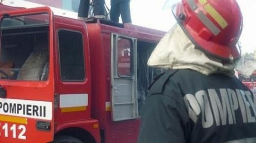 Incendiu la fabrica Sanex. Peste 20 de angajați, evacuați de urgență