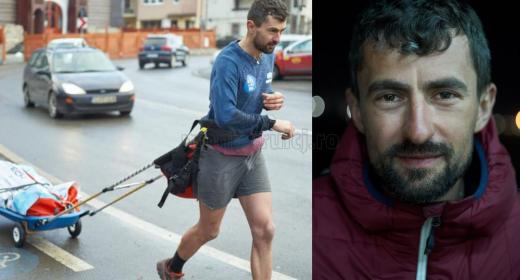 Vlad Pop - clujeanul care a alergat 620 km în 7 zile