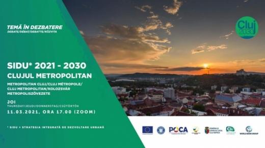 """Strategii privind """"Clujul Metropolitan"""", discutate la CIIC."""