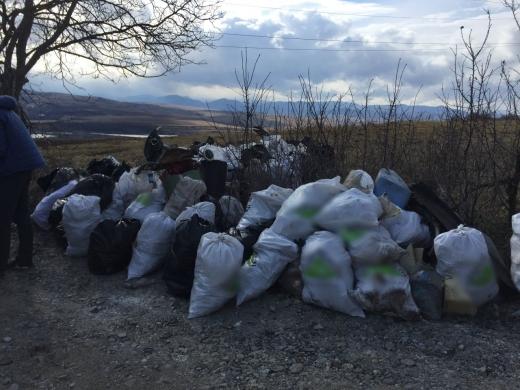 Mai mulți clujeni au strâns 200 de saci de gunoaie în doar 4 ore