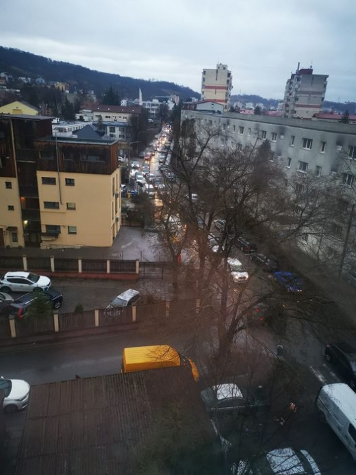 Locuitorii din Grigorescu se plâng de traficul infernal.