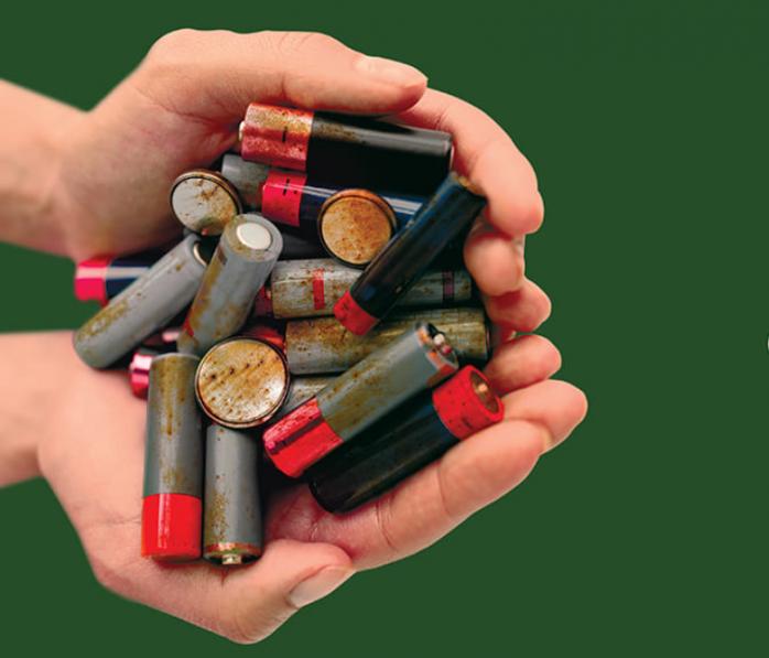 Campanie de reciclare a bateriilor uzate