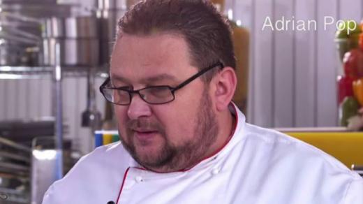 Adrian Pop este unul dintre cei mai buni bucătari din Cluj