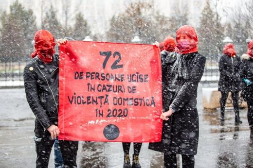 72 de femei, ucise de iubit sau soț în anul 2020