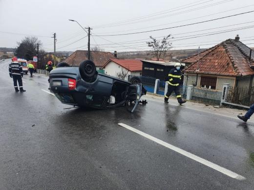 Accident în Copăceni, Cluj