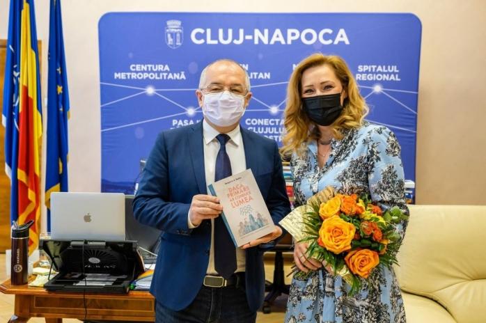 """Boc, lecții de administrație pentru """"începători"""". S-a întâlnt cu Elena Lasconi: """"Un primar care inspiră oamenii prin viziune"""""""