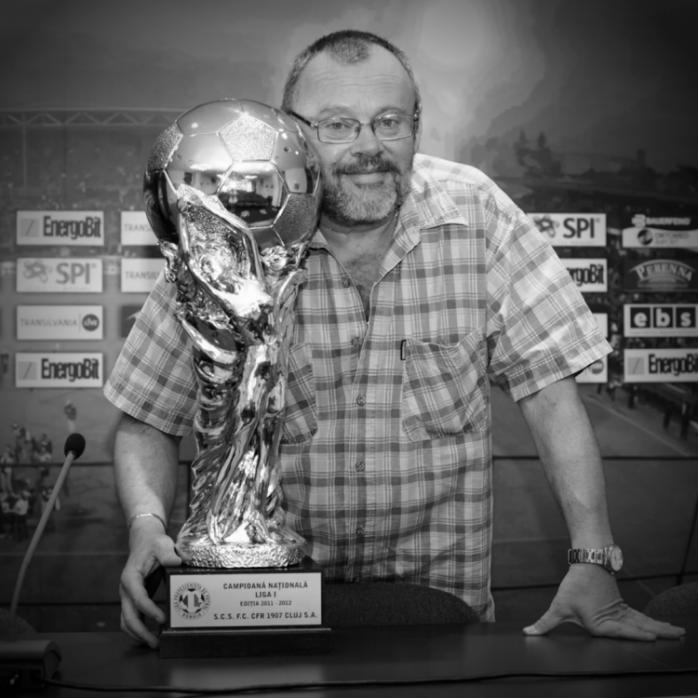 Doliu la CFR Cluj! A murit Zoli Cantor, cel mai înfocat fan și omul de afaceri care a suținut echipa