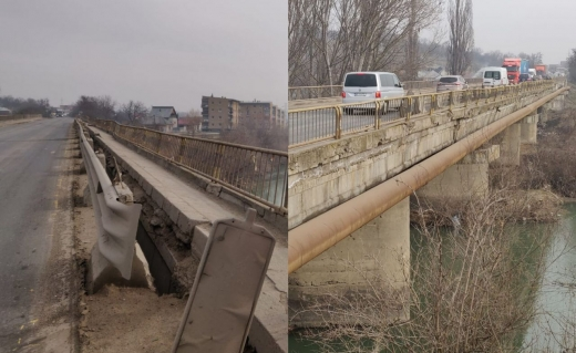 Se închide podul peste râul Arieș, Turda, de luni