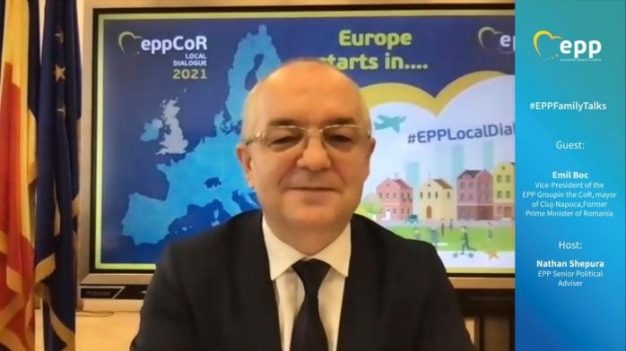 """Emil Boc: """"Uniunea Europeană va da tonul lumii post-pandemice"""""""