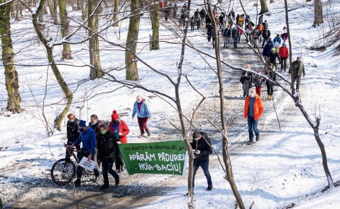 """""""Marșul Haosului Imobiliar"""" ar putea fi amendat cu 15.000 de lei."""