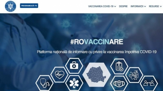 Va fi modificată platforma de vaccinare.