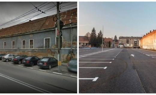 Ce se mai întâmplă cu Centrul Cultural Transilvania, de pe Bulevardul 21 Decembrie? Un corp al clădirii în paragină va fi demolat