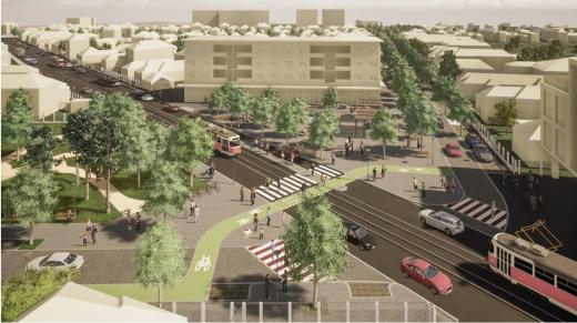 Piața Liebknecht, Parcul Iris și străzile adiacente vor fi amenajate. Zona se va schimba radical. GALERIE FOTO