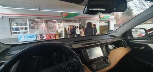 Benzinările din Cluj. Sursă foto: Info Trafic Cluj