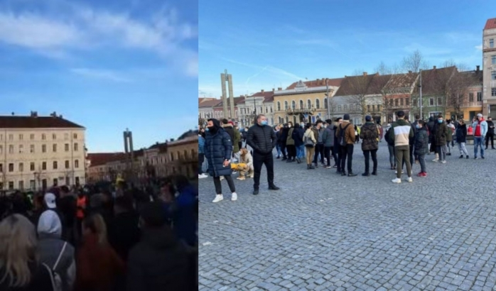 """Clujenii se pregătesc de un alt protest? """"Ori ieșim cu toții și le spargem capu ori stam acasă"""""""