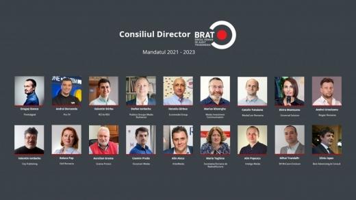 Biroul Român de Audit Transmedia (BRAT) și a ales o nouă conducere pentru perioada 2021 – 2023