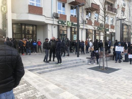 Jandarmii clujeni NU au dat nicio amendă la protestele organizate ieri în tot orașul